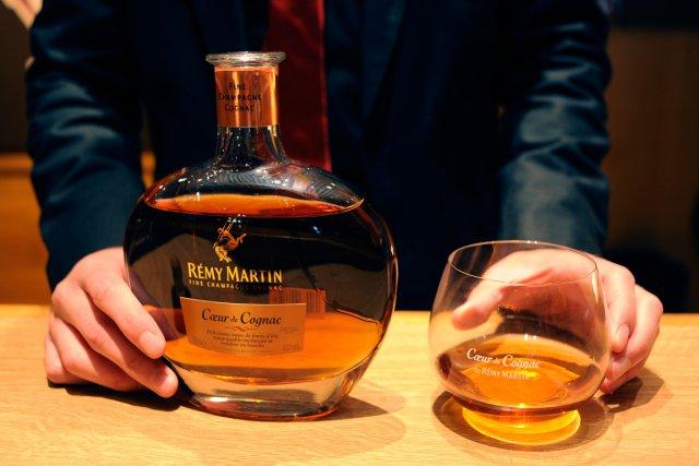Le cognac conforte pour la deuxième année consécutive sa première place en... (PHOTO ARCHIVES BLOOMBERG)