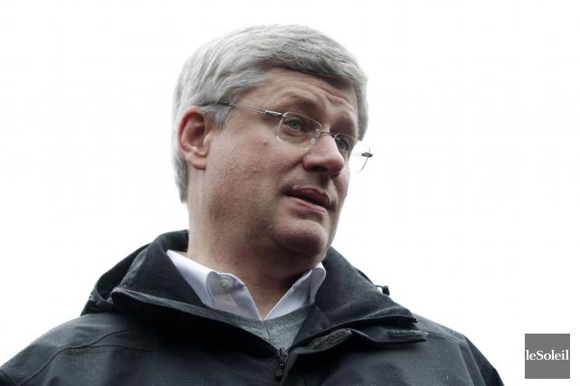 Le premier ministre Stephen Harper.... (Photothèque Le Soleil)