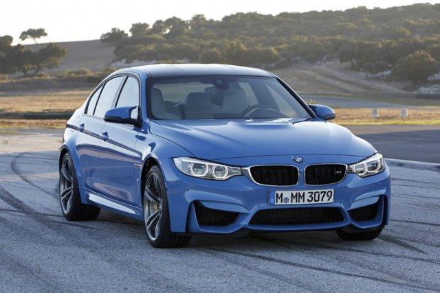 La nouvelle BMW M3 était présente à Detroit... (Photo fournie par BMW)