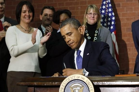 Le président des États-Unis Barack Obama a promulgué vendredi le budget pour... (Photo Reuters)