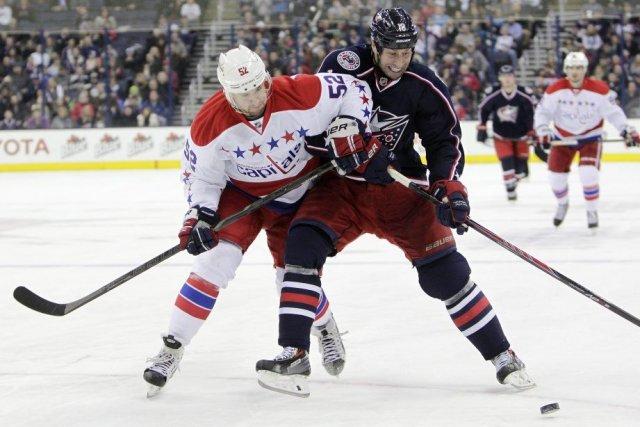 Cam Atkinson a inscrit deux buts, Sergei Bobrovsky a connu une autre bonne... (Photo AP)