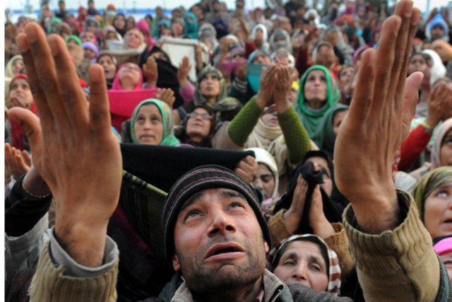 Le rassemblement avait pour but de commémorer un... (Photo archives AFP)