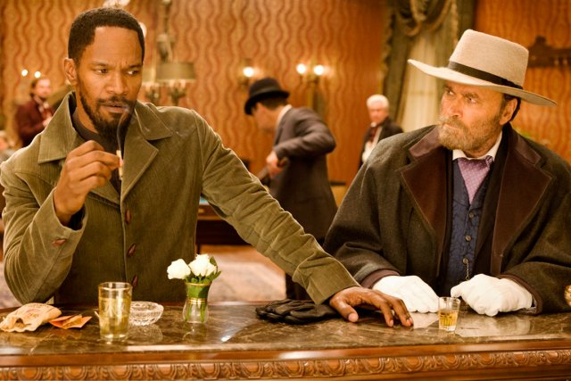 Jamie Foxx et Franco Nero dans Django Unchained.... (PHOTO COLUMBIA PICTURES)
