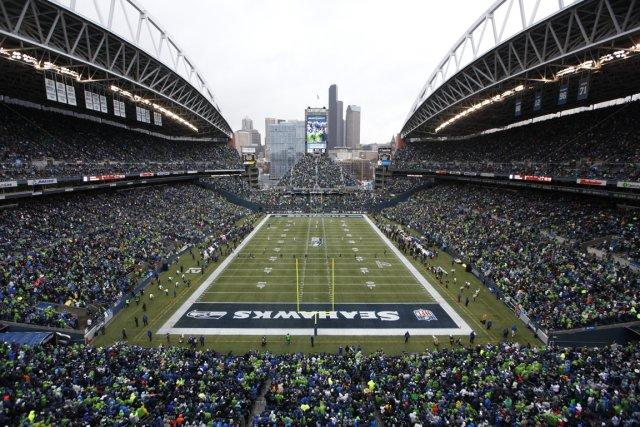 C'est au CenturyLink Field que se jouera la... (Photo John Froschauer, Associated Press)