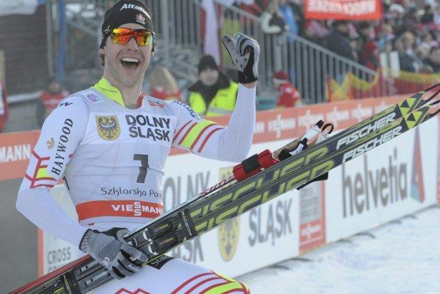 Il s'agit du tout premier triomphe du résidant... (Photo Alik Keplicz, AP)