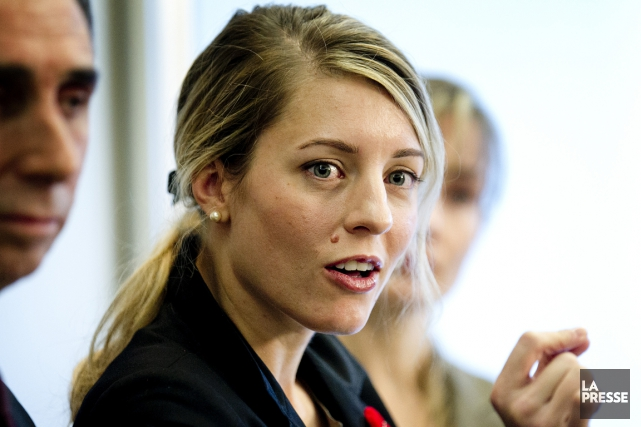 Mélanie Joly... (PHOTO MARCO CAMPANOZZI, ARCHIVES LA PRESSE)