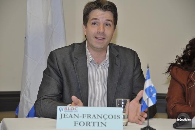 Le député de Haute-Gaspésie-La Mitis-Matane-Matapédia, Jean-François Fortin.... (PHOTO ARCHIVES LE QUOTIDIEN)