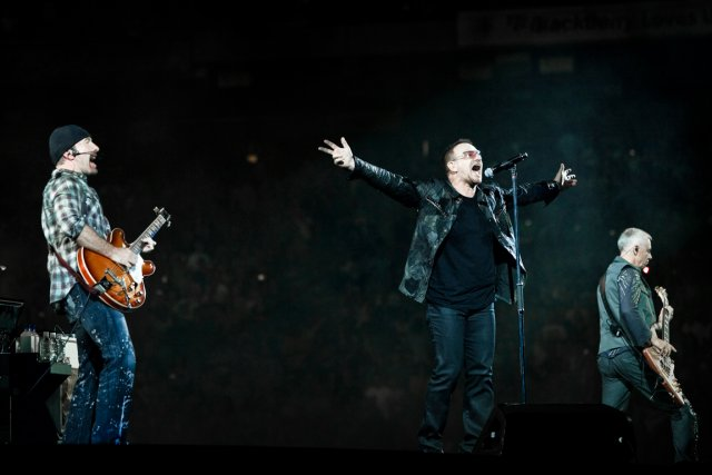 U2 doit lancer son 13e album dans les... (PHOTO THE NEW YORK TIMES)