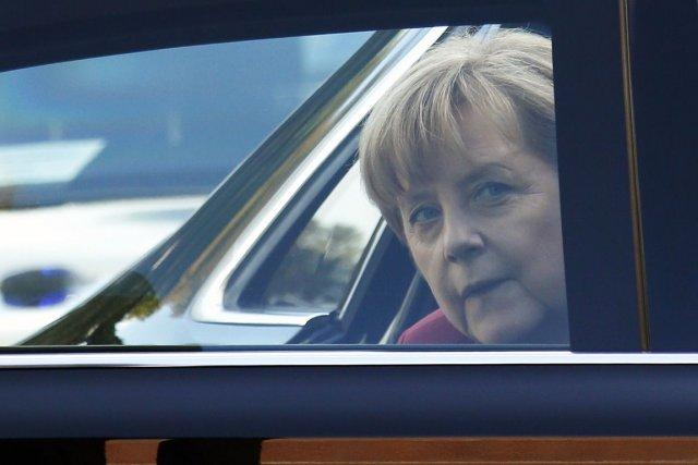 La chancelière allemande Angela Merkel a été espionnée... (PHOTO FRANÇOIS LENOIR, REUTERS)