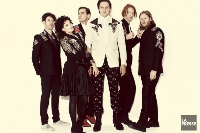 Le groupe Arcade Fire... (Photo: archives La Presse)