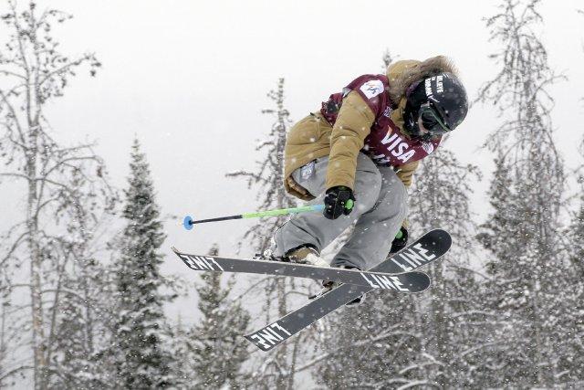 La skieuse acrobatique Kimberly Lamarre s'est à nouveau illustrée, samedi, à... (Photo Julie Jacobson, archives AP)
