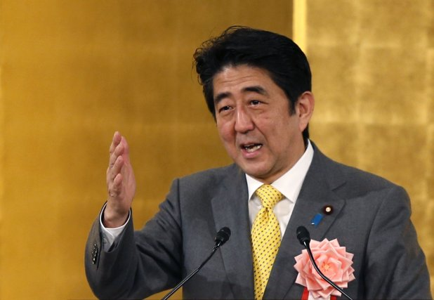 Le premier ministre japonais Shinzo Abe... (Photo Toru Hanai, archives Reuters)