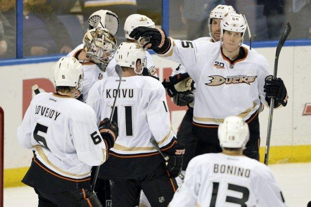 Les Ducks ont gagné 19 de leurs 21... (PHOTO JASEN VINLOVE, USA TODAY)