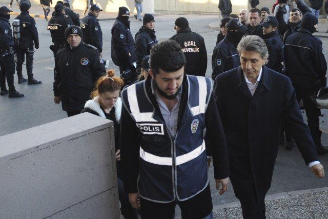 La police a procédé à sept arrestations.... (Photo REUTERS)