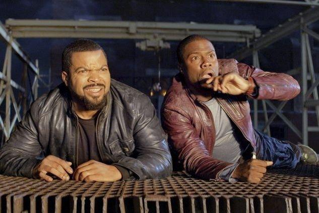 Ice Cube et Kevin Hart dans une scène... (PHOTO FOURNIE PAR UNIVERSAL)