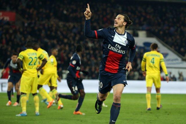 Le Paris SG reste solidement accroché à la première place du Championnat de... (Photo: AFP)