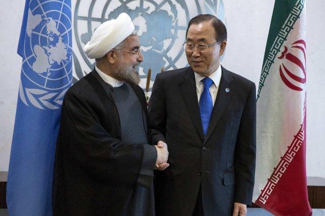 Le secrétaire général de l'ONU, Ban ki-Moon, a... (Photo Eric Thayer, Reuters)