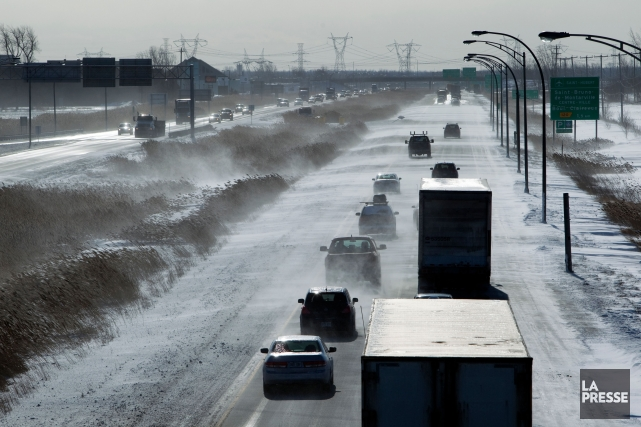 La fin de semaine se clôture sur une sombre note sur les routes de la province,... (Photo Martin Chamberland, archives La Presse)