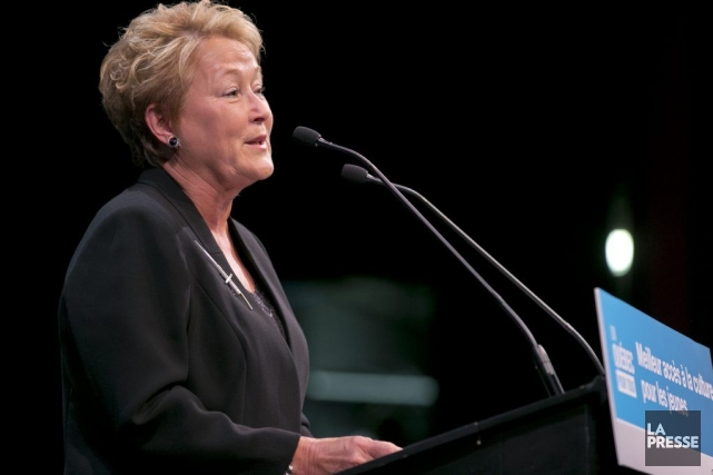 Pauline Marois... (Photo David Boily, archives La Presse)