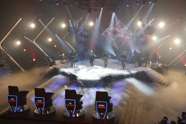 Les deux heures d'auditions à l'aveugle de cette... (Photo: fournie par TVA)