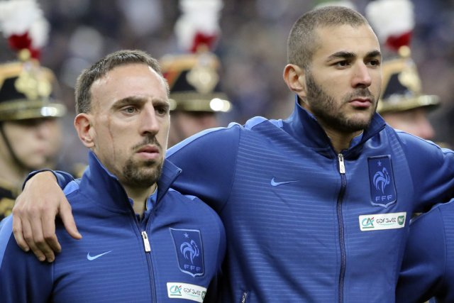 Franck Ribéry et Karim Benzema... (Photo Michel Euler, archives Associated Press)
