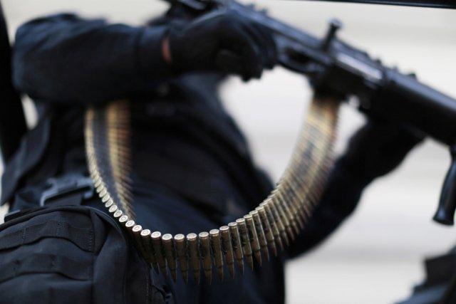 Un agent de la police fédérale mexicaine à... (PHOTO JORGE DAN LOPEZ, REUTERS)