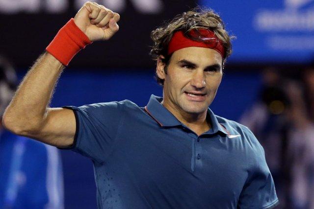 Roger Federer a égalé un record de Jimmy... (Photo Aaron Favila, AP)