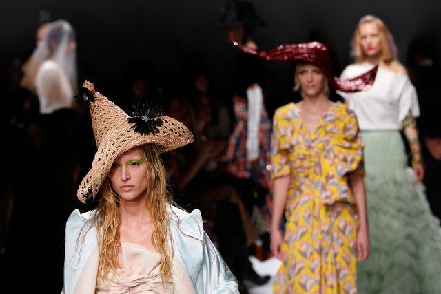 La fantaisie de la défunte couturièreElsa Schiaparelliest bien... (Photo FRANCOIS GUILLOT, AFP)