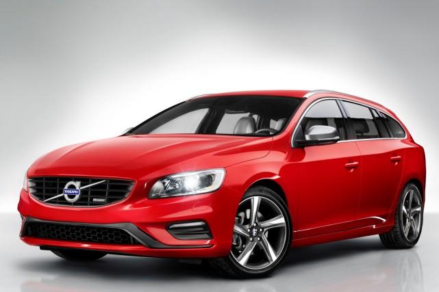 La Volvo V60 2015... (Photo fournie par Volvo)