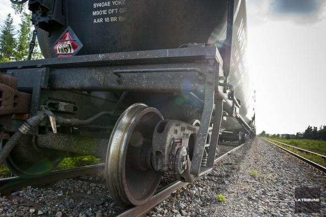 Le possible futur propriétaire du chemin de fer qui passe par Lac-Mégantic a eu... (Archives La Tribune)