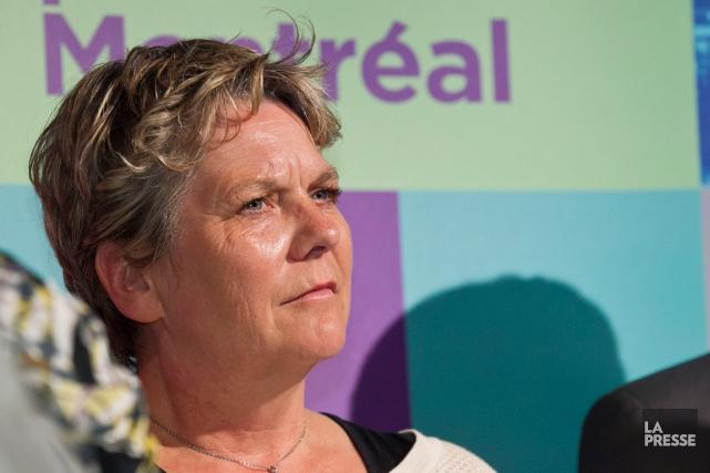 Chantal Rouleau, la responsable des infrastructures de l'administration... (PHOTO HUGO-SÉBASTIEN AUBERT, LA PRESSE)