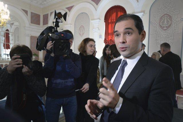 Tugan Sokhiev, nouveau directeur musical du Bolchoï.... (Photo: AFP)