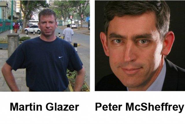 Les corps des deux comptables canadiens tués la semaine dernière dans un... (Photo: PC)