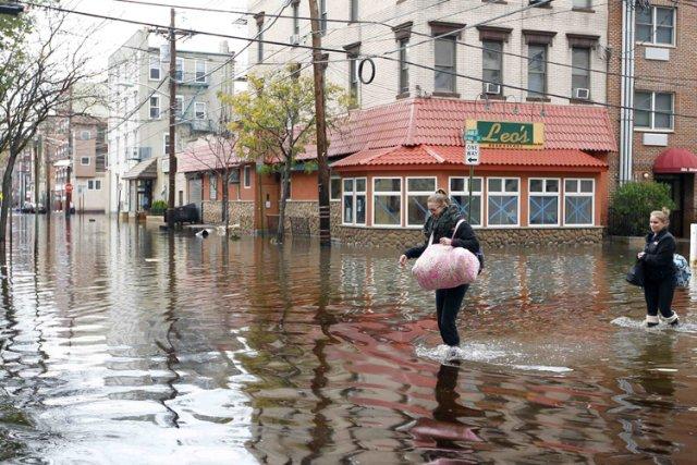 La ville deHoboken, dans l'État du New Jersey,... (Archives Reuters)