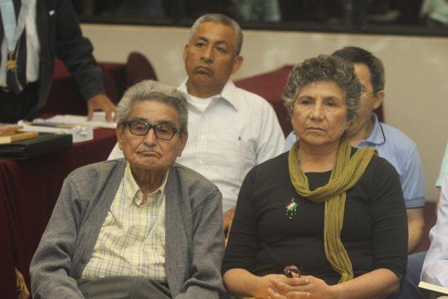 Abimael Guzman, fondateur de la guerrilla péruvienne du... (Photo Reuters)