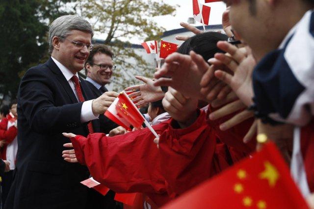 L'accord signé entre le gouvernement Harper et le... (Archives Reuters)
