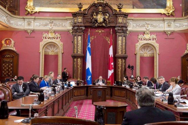 Les députés ont encore devant eux quelque 225... (Photo La Presse Canadienne)