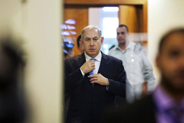 Le premier ministre Benyamin Nétanyahou, à Jérusalem, le... (PHOTO ODED BALILTY, REUTERS)