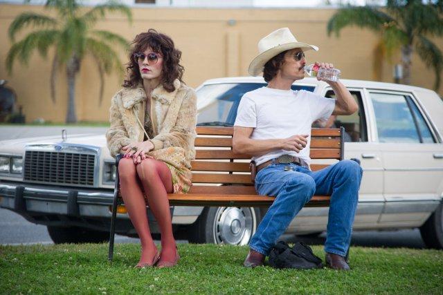 Jared Leto etMatthew McConaughey dans Dallas Buyers Club.... (PHOOT FOURNIE PAR REMSTAR)