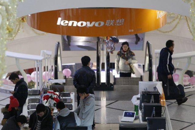 Lenovo s'est fortement renforcé ces derniers trimestres sur... (PHOTO ALY SONG, REUTERS)