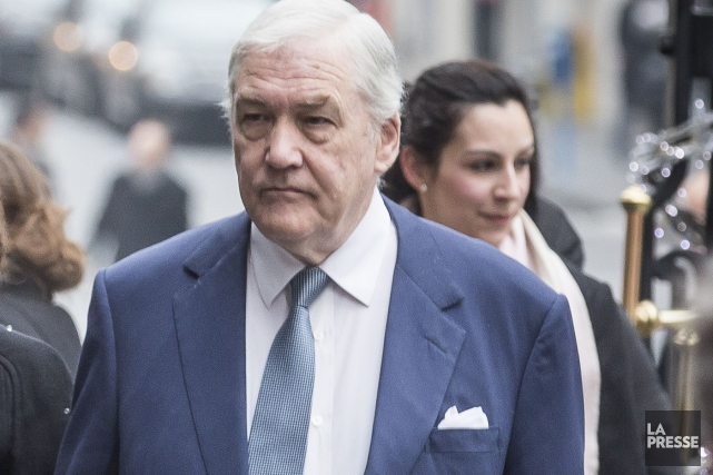 Conrad Black... (Archives La Presse)