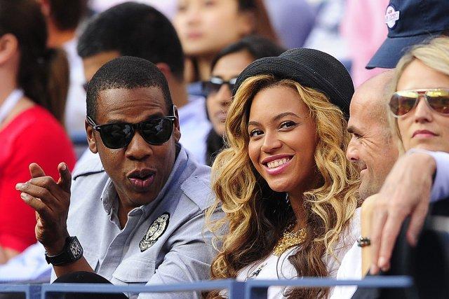 Jay Z et sa femme, Beyoncé... (Photo: archives AFP)