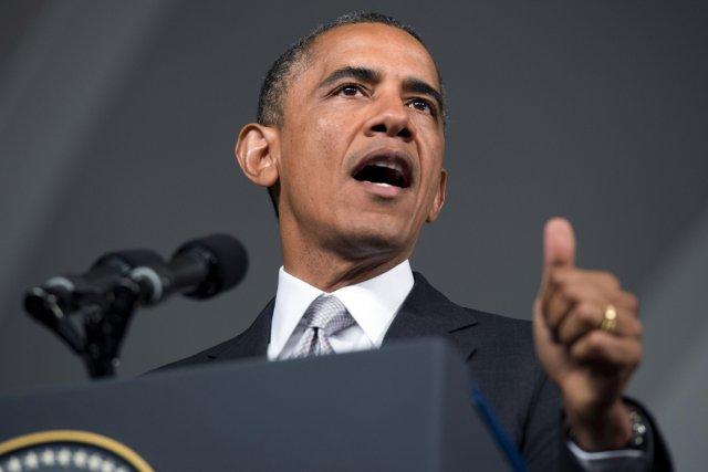 Le président Obama lors de sa tournée africaine,... (Photo Saul Loeb, AFP)