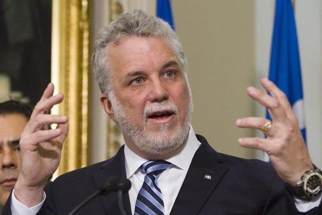 Philippe Couillard, chef du PLQ.... (Photo La Presse Canadienne)