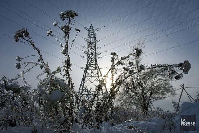 Hydro-Québec prévoit une consommation d'électricité importante en raison des... (Photo La Presse)