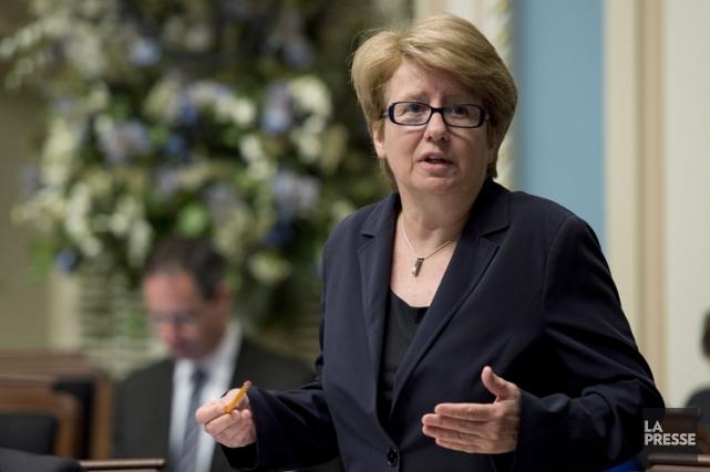 Agnès Maltais... (Photo: PC)
