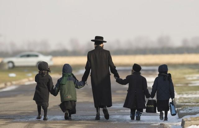 Quatre autres enfants de la secte juive Lev Tahor pourront retourner auprès de... (Photo archives Toronto Star)