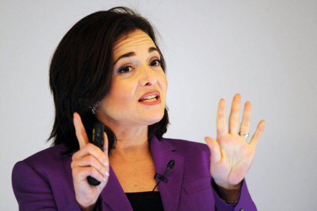 Sheryl Sandberg... (Photo: AFP)