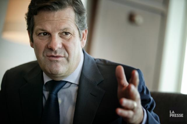 Le PDG de Bombardier, Pierre Beaudoin.... (PHOTO MARCO CAMPANOZZI, ARCHIVES LA PRESSE)