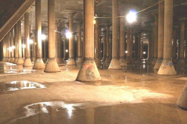 Le réservoir Rosemont.... (Photo fournie par la Ville de Montréal)